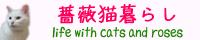 薔薇猫暮らし
